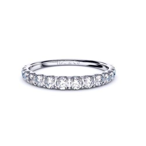 tapered wedding ring perth diamond company